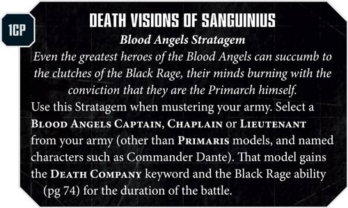 Blood Angels Death Visions