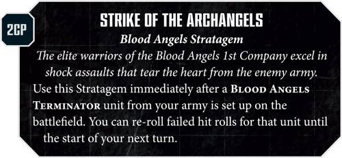 Blood Angels Strike Of Archangels