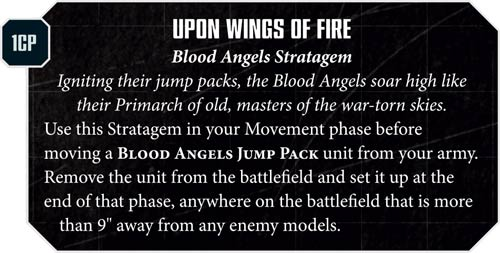 Blood Angels Upon Wings Fire