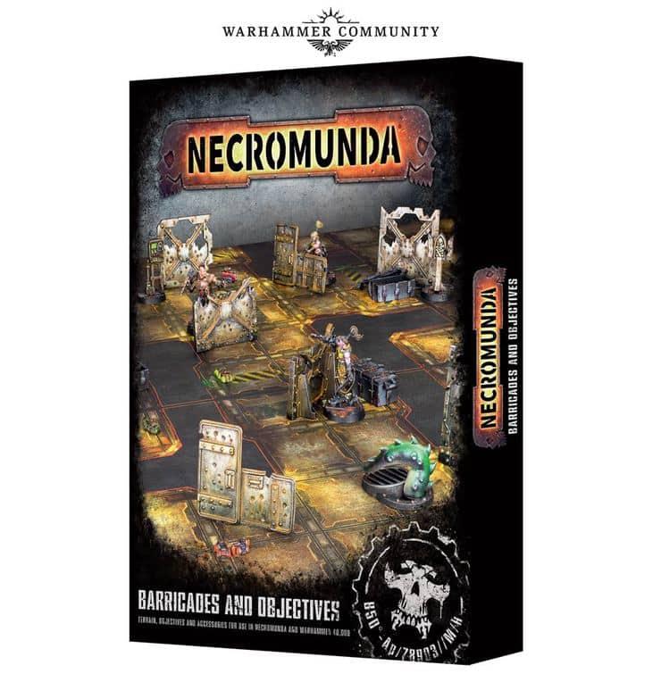 Necromunda Baricades & Objectives