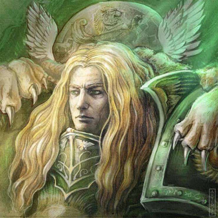 Horus Heresy Week-ender / organisation Primarch-Lion-El-Jonson-Warhammer-40k
