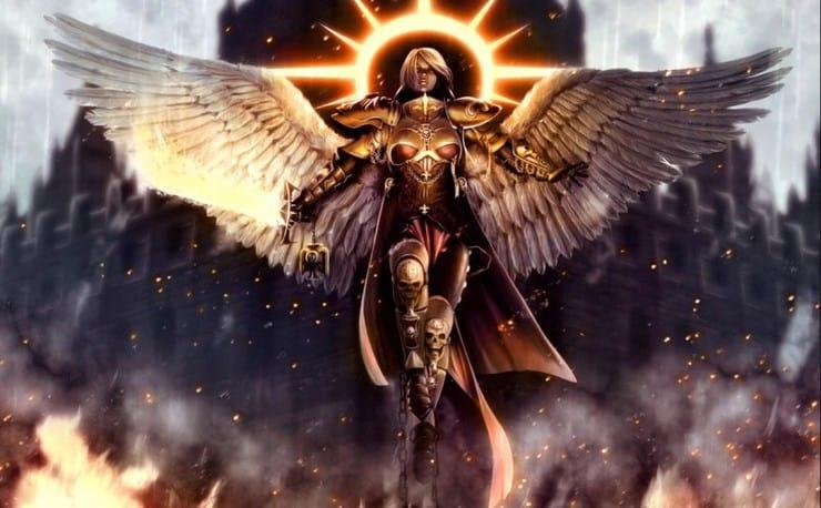 Saint Celestine Sister of Battle