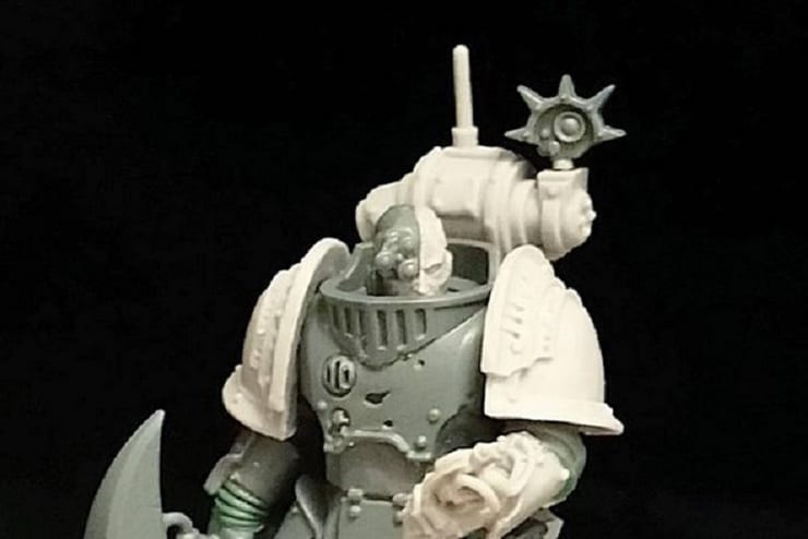 conversion space marine cover