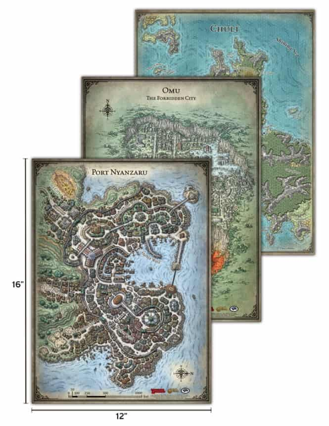 Dungeons Amp Dragons Tomb Of Annihilation Map Set Spikey Bits