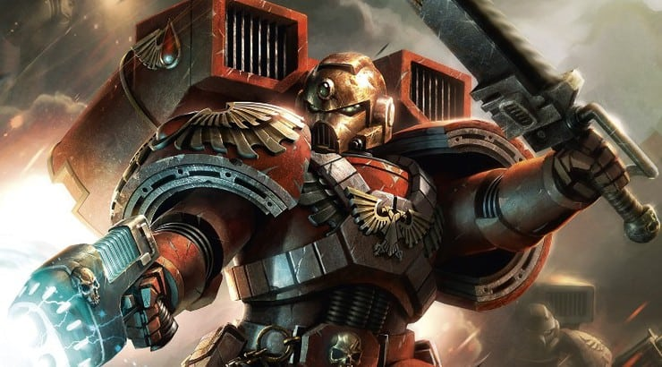 Blood Angels cover hor wal