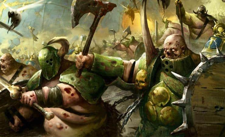 Death Guard Nurgle Wal Hor