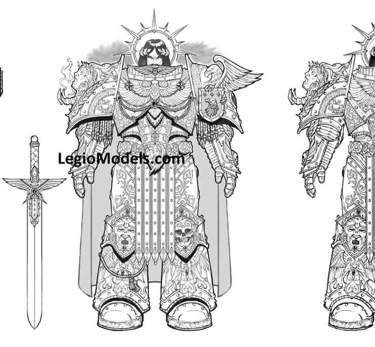 Another Emperor Model Is Coming To Miniatures - Spikey Bits