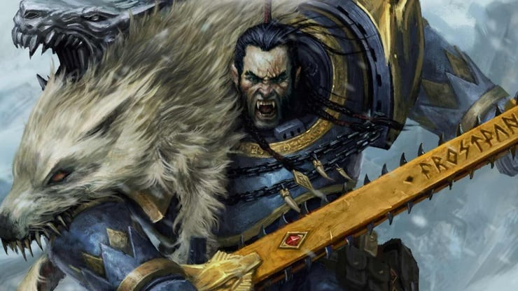Space Wolves Space Marine Ragnar hor wal