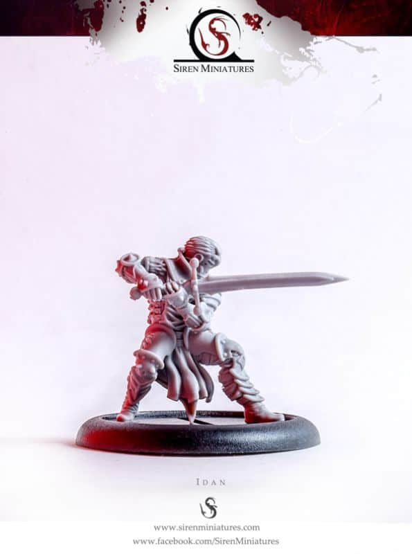 New Fantasy Knight From Siren Miniatures - Spikey Bits