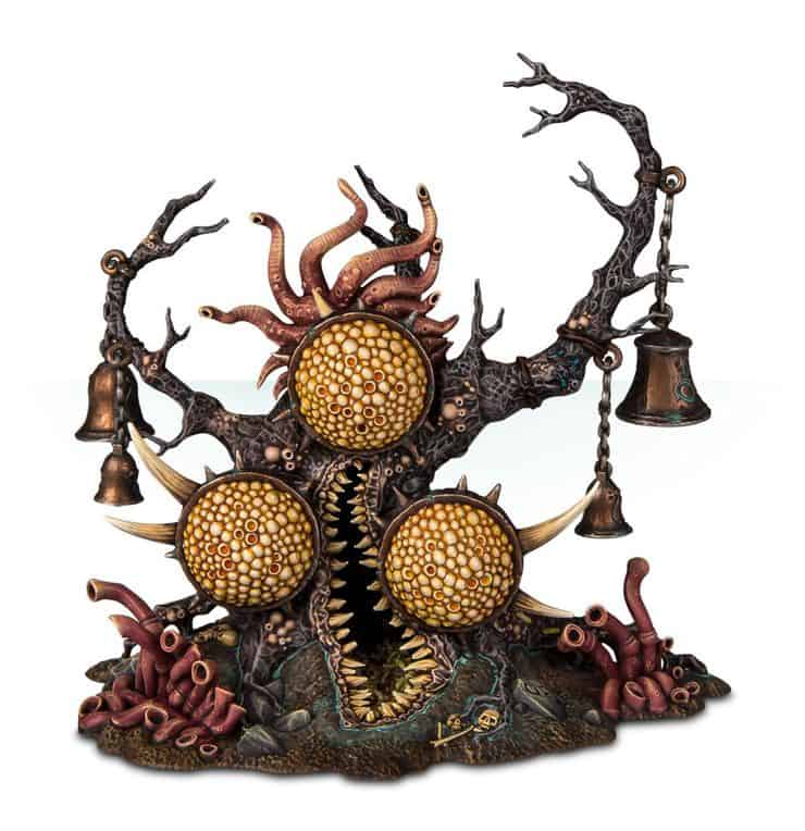 Nurgle daemons unboxing rules review spikey bits for Soil 7 days to die