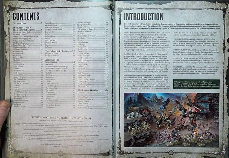 Daemon Codex contents
