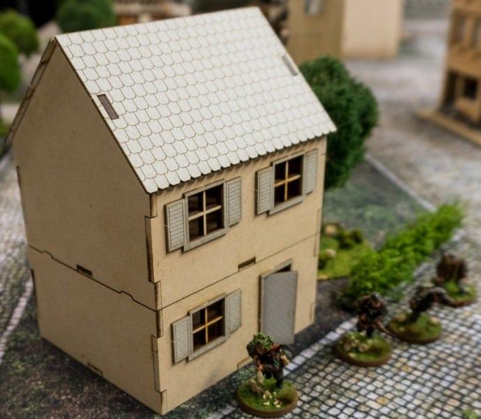GameCraft Minis House 2 Story