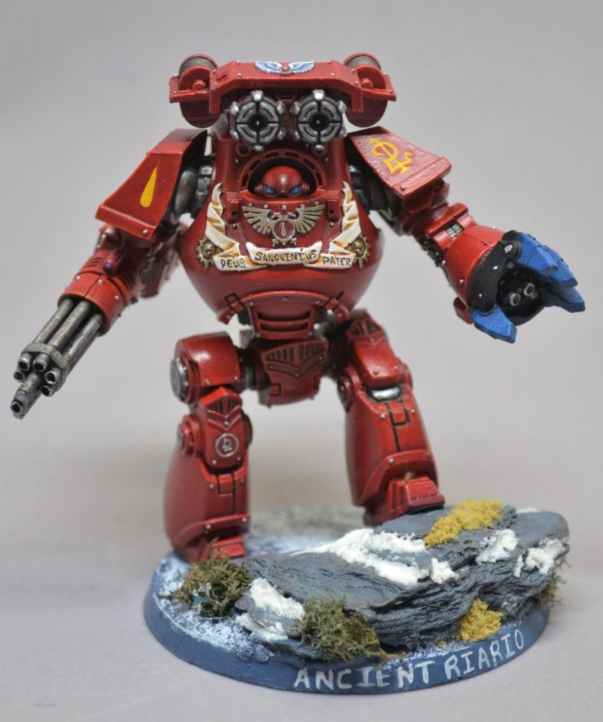 blood angels dreadnought