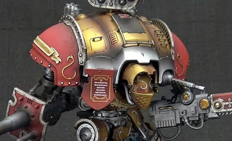 custodes knight showcase