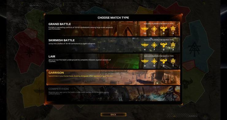 eternal crusade game modes