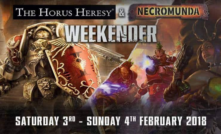 horus heresy weekender 2018