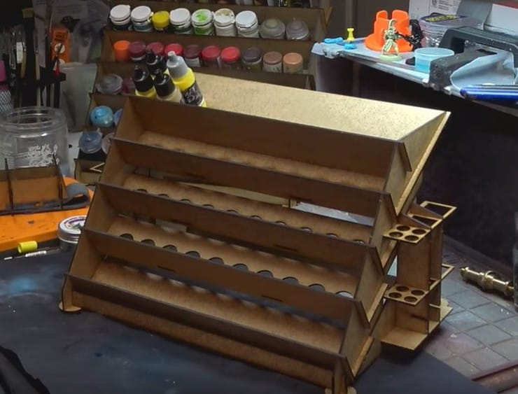 warlord small paint rack