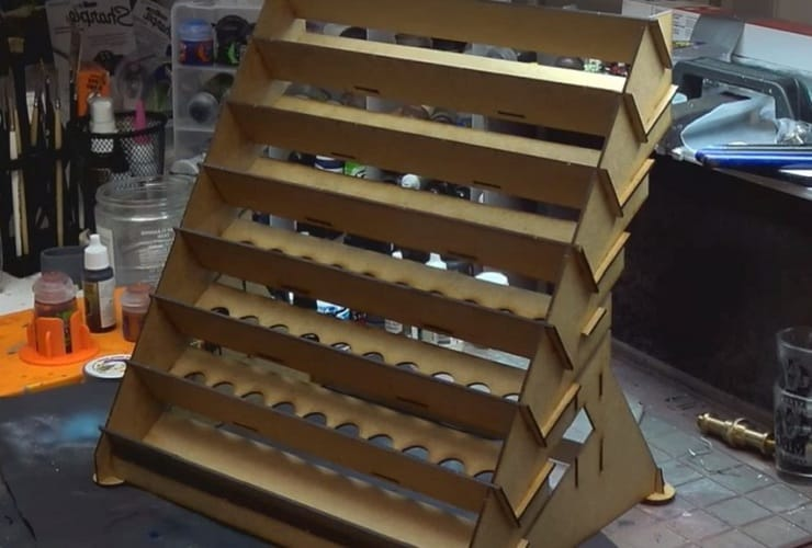 warlords paint rack