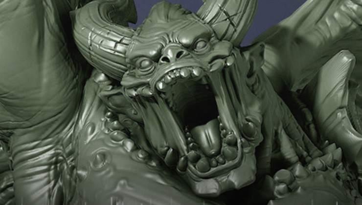 warrior demon creature caster hor wal