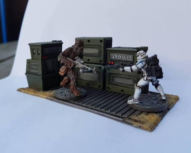 Imperial terrain cargo pallets