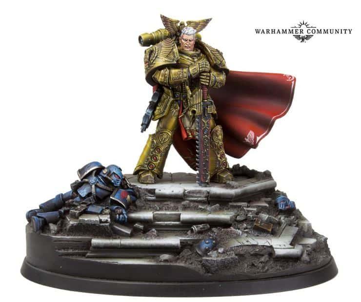 Rogal Dorn primarch model
