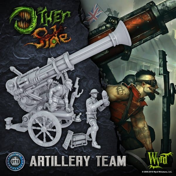 Wyrd Friday Preview Artillery Team