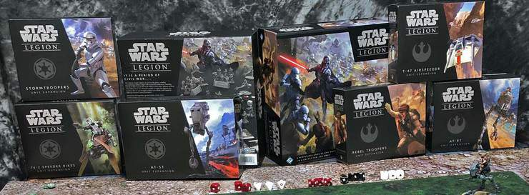 Star War Legion Painted Models