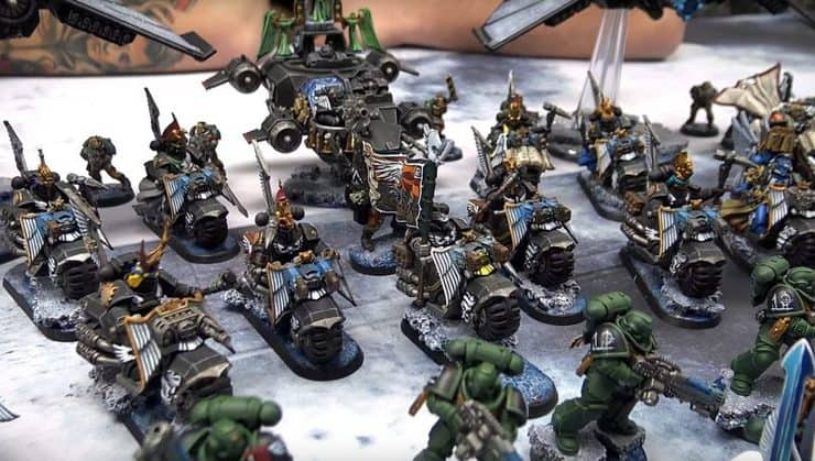 dark angels army showcase