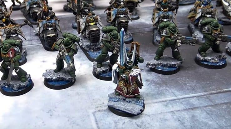 dark angels azrael army showcase
