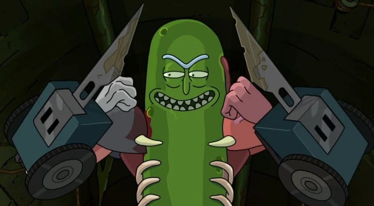 pickle rick dvd collection