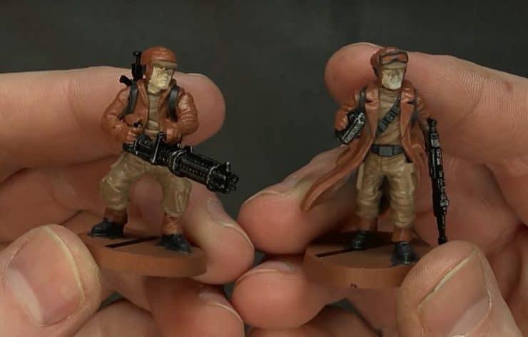 rebel troopers painted