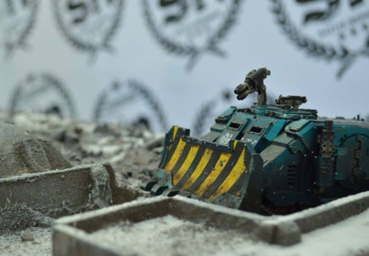 sn battle report alpha legion tank