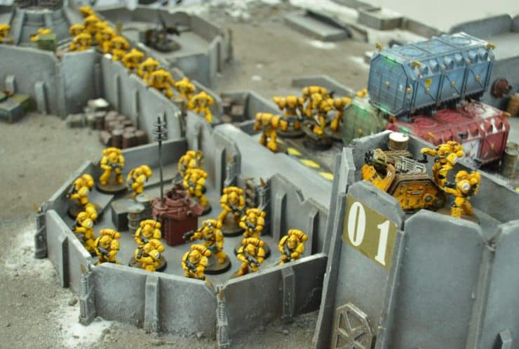 sn battle report deployed imp fists