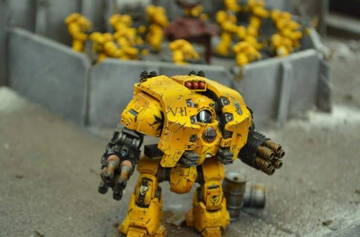 sn battle report imperial fist dread