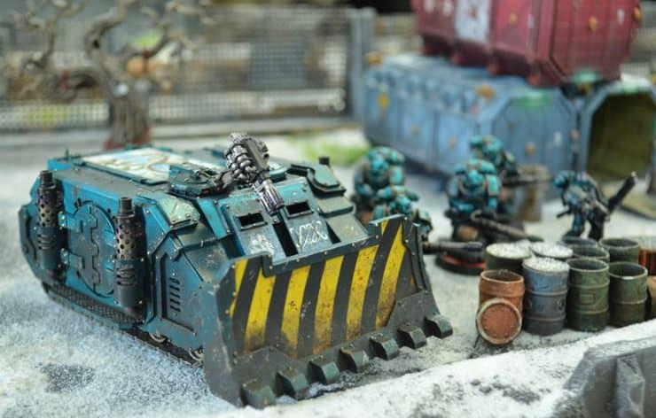 sn battle reports alpha legion rhino