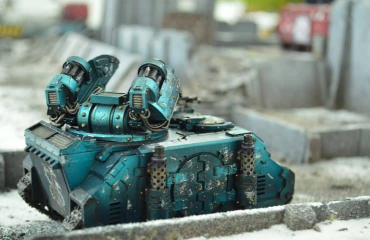 sn battle reports alpha legion vehicle