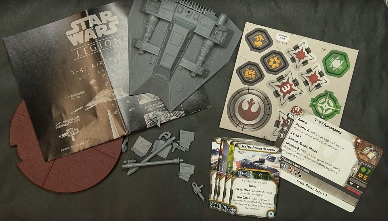 T 47 Airspeeder Unbox Build Star Wars Legions Spikey Bits Game Show Buzzer Find Great Deals On Ebay For Quiz Legion 2