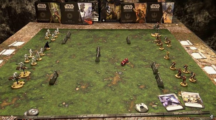 How To Play Star Wars Legion Demo Game Spikey Bits