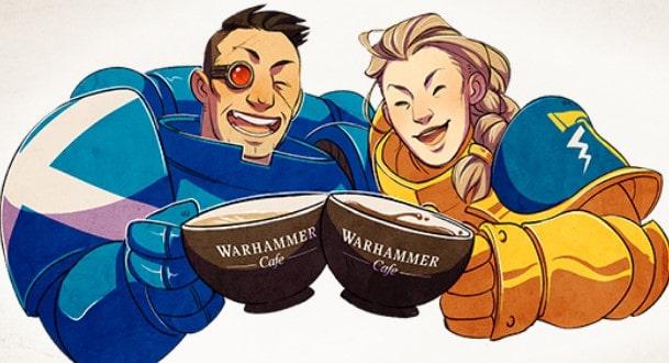 warhammer cafe wal hor