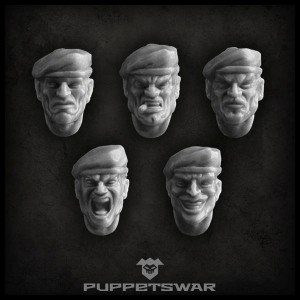 Beret Heads Front