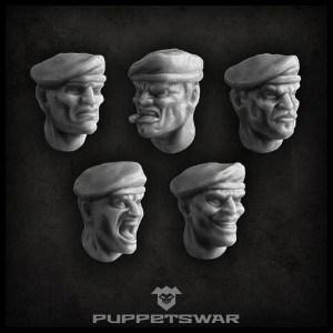 Beret Heads Side
