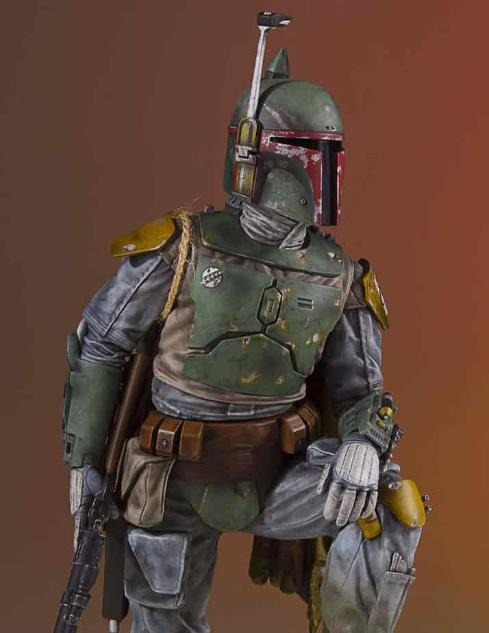 new boba fett statue on the horizon spikey bits. Black Bedroom Furniture Sets. Home Design Ideas