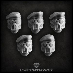 Masked Beret Front