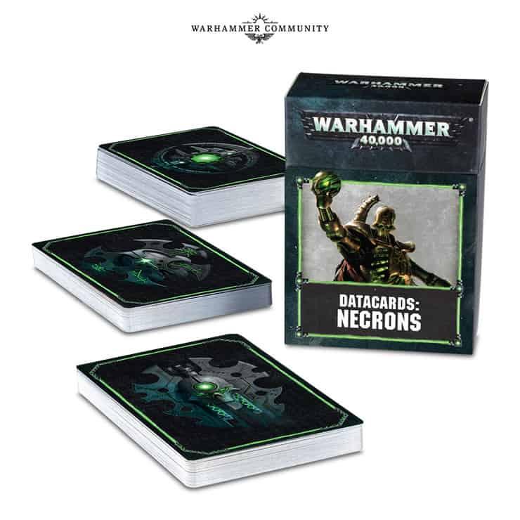 Necron Datacards