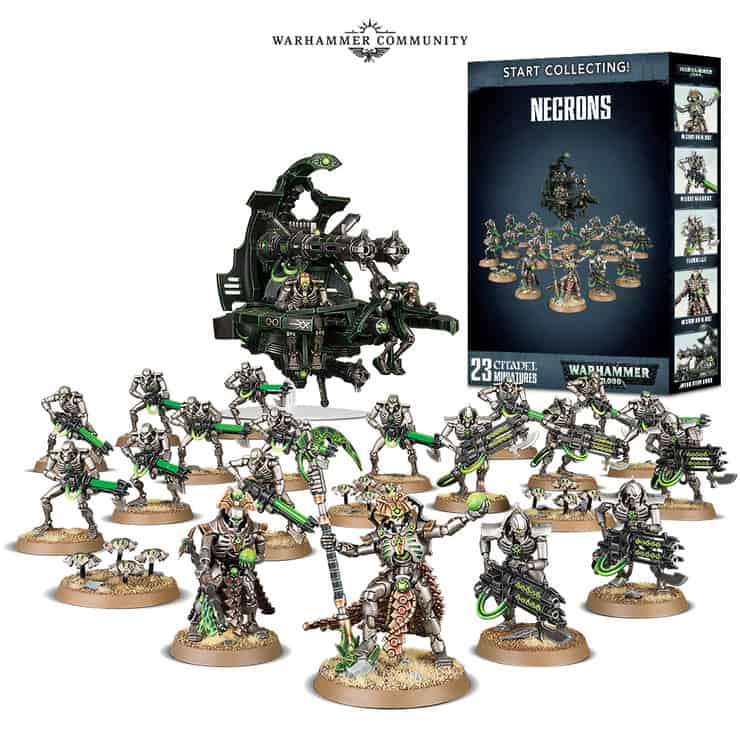 Necron Start Collecting