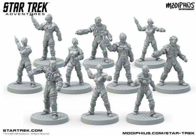 STA Borg Minis