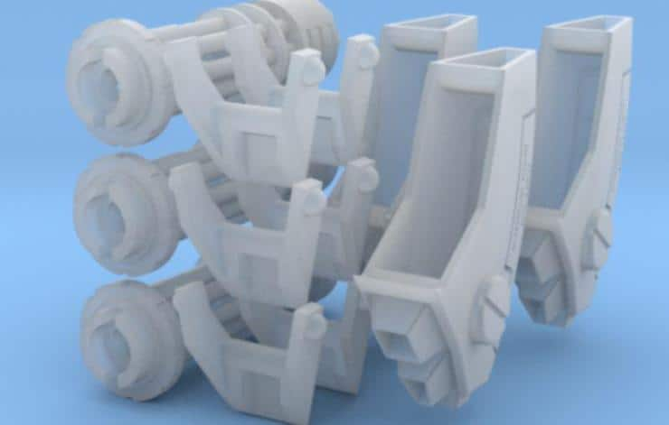 New Shapeways Upgrades Just In Time For Tau! - Spikey Bits
