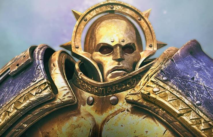 Sigmar Stormcast Eternal Face