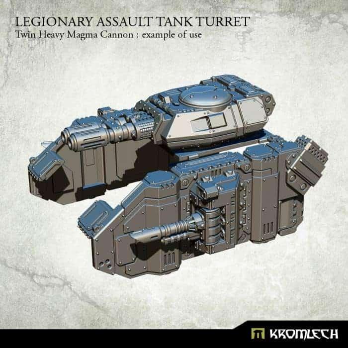 Legion Tank Twin Heavy Plasma Cannon