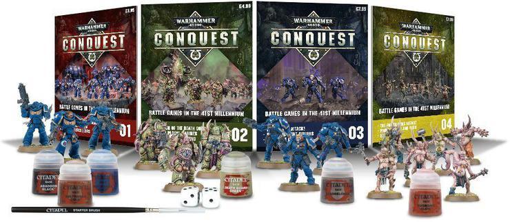 70 warhammer 40,000 Conquest Issue